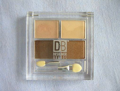db designer brands eyeshadow quad - Db Designer Brands