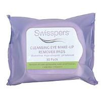 Swisspers  Cleansing Eye Make-up Remover Pads