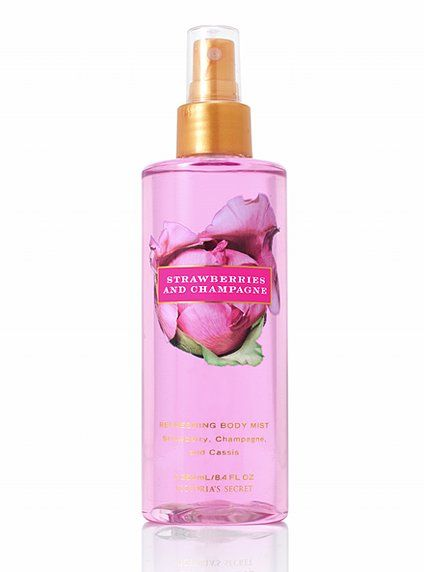 Victoria's Secret Strawberries and Champagne Spray