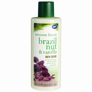 Boots  Amazon Forest - Bath Cream  - Brazil Nut and Vanilla