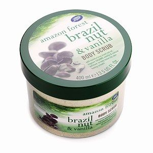 Boots  Amazon Forest - Body Scrub - Brazil Nut and Vanilla