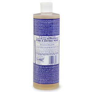 Dr. Bronner's Hemp Peppermint Castille Soap