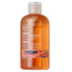 The Body Shop Papaya Bath & Shower Gel