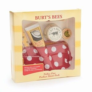 Burt's Bees Polka Dot Perfect Mani-Pedi Gift Set