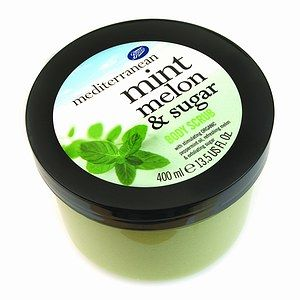 Boots  Mediterranean - Mint Melon and Sugar Body Scrub