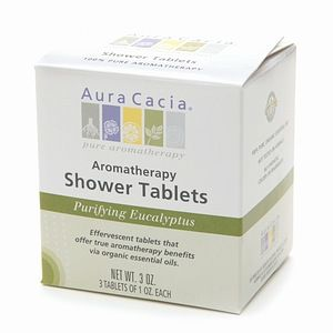 Aura Cacia Purifying Eucalyptus Shower Tablets