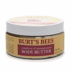 Burt's Bees Body Butter, Cranberry & Pomegranate