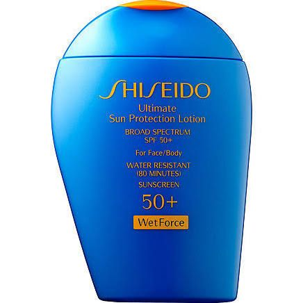 79fe471b9d10cf SHISEIDO 50+ Wet Force Ultimate Sun Protection Lotion reviews, photo -  Makeupalley