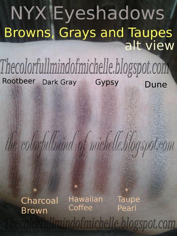 Nyx Professional Makeup Single Eye Shadow Dune Reviews Photos