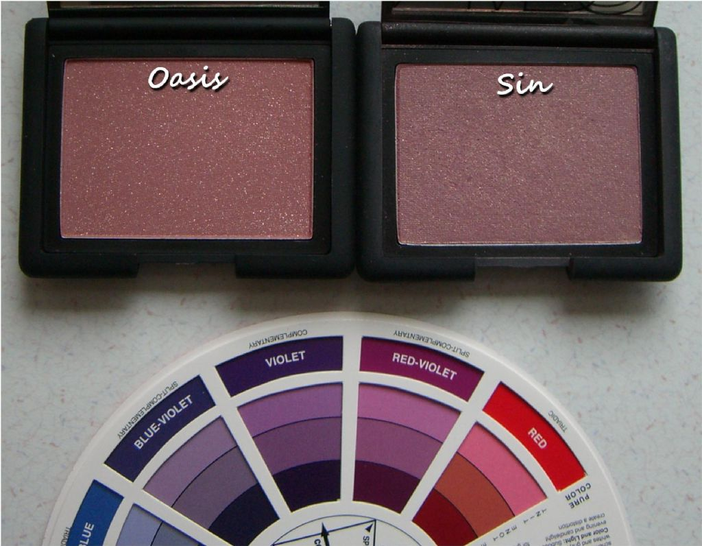 NARS blushes in Oasis - Sin (Uploaded by syeung2)