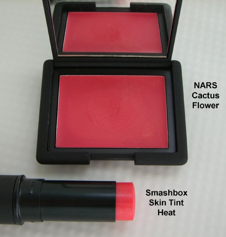 NARS Cactus Flower and Smashbox Skin Tint in Heat (Uploaded by syeung2)