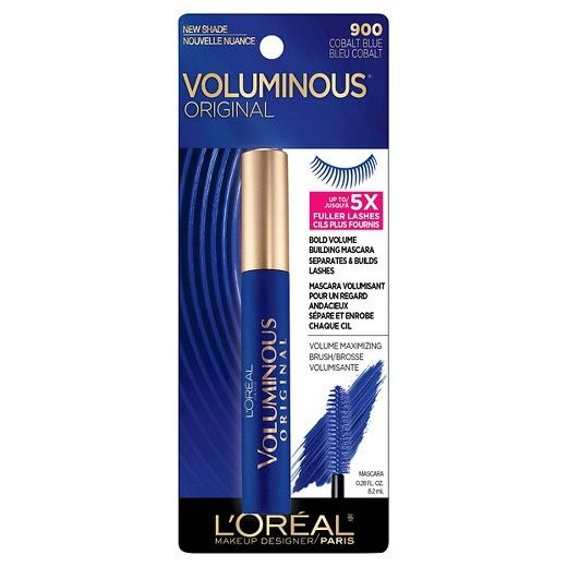L'Oreal Paris Voluminous Original in Cobalt Blue reviews, photo - Makeupalley