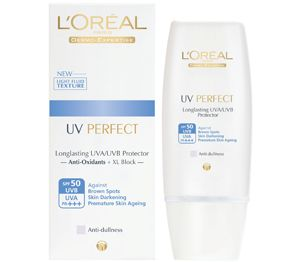 L'Oreal UV Perfect Anti-Dullness SPF 50