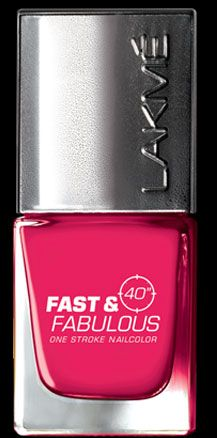 Lakme Absolute Fast and Fabulous Nail Polish