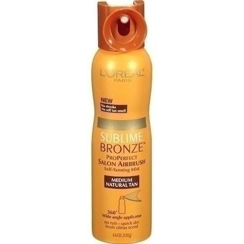 L'Oreal Sublime Bronze Pro Perfect Salon Airbrush Self-Tanning Mist