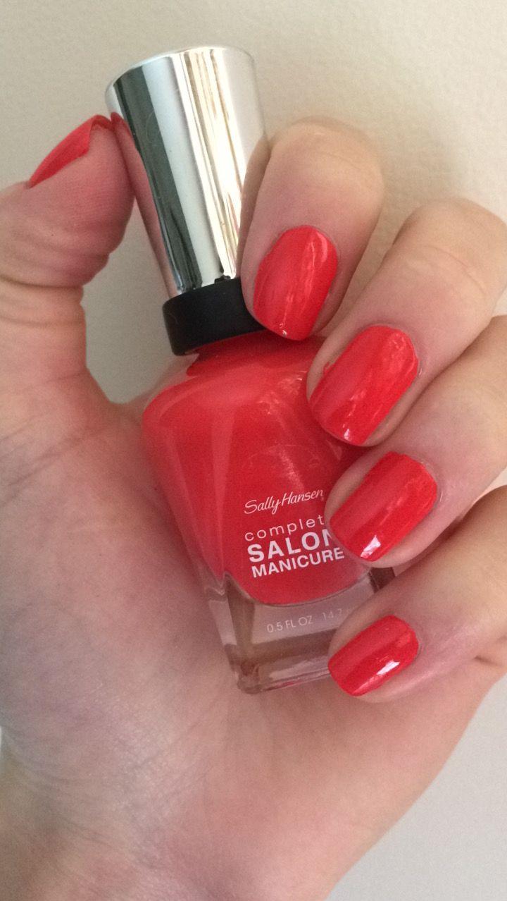 Sally Hansen Complete Salon Manicure Kook-A-Mango reviews, photos ...