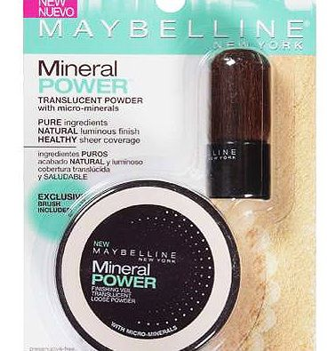 Maybelline Mineral Power Finishing Veil Translucent Loose Powder