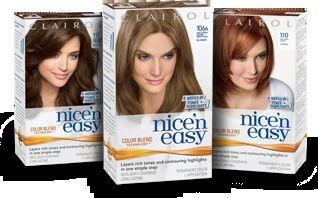 nice n easy hair color - Clairol Nice And Easy Hair Color