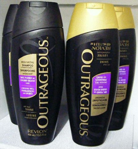Revlon Outrageous Shampoo & Conditioner