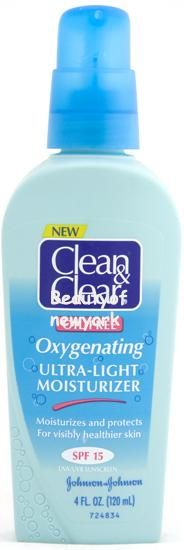 Clean & Clear Oil-Free Oxygenating Ultra-Light Moisturizer