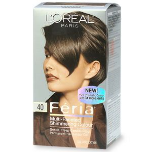 L'Oreal Feria Hair Color in Espresso (Deeply Brown)