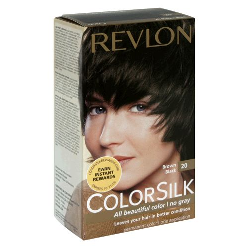 Revlon Colorsilk in Brown Black