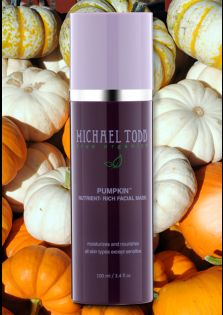 Michael Todd True Organics pumpkin nutrient rich mask