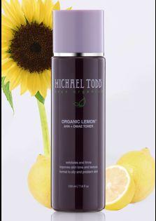Michael Todd True Organics organic lemon aha & dmae