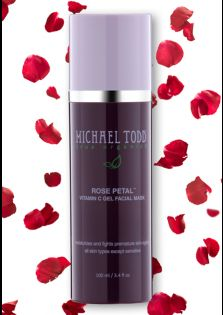Michael Todd True Organics Rose Petal Vitamin C Gel Facial Mask