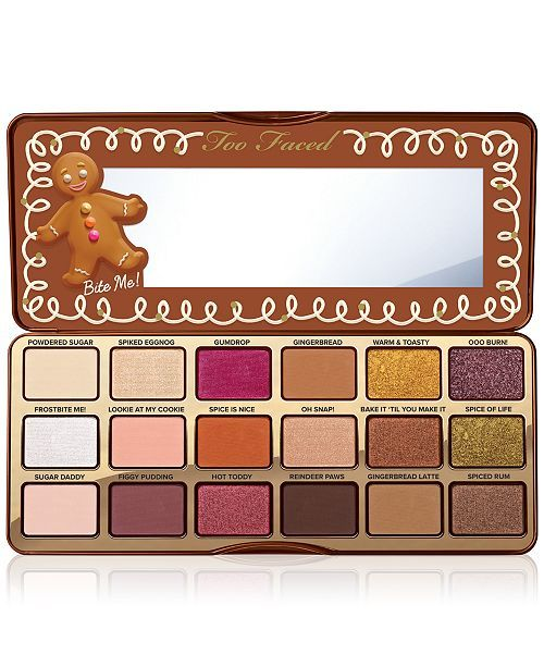 Too Faced Gingerbread Spice Eye Shadow Palette reviews, photos, ingredients  - MakeupAlley