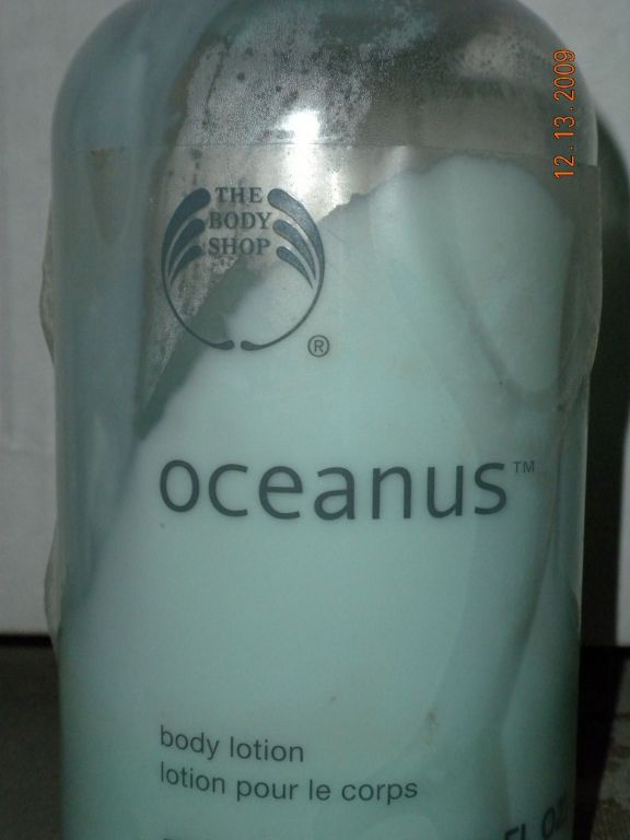 The Body Shop Oceanus Body Lotion