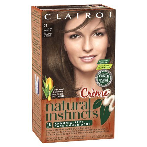 Clairol Natural Instincts Rich Color Creme In 21 Chocolate Creme