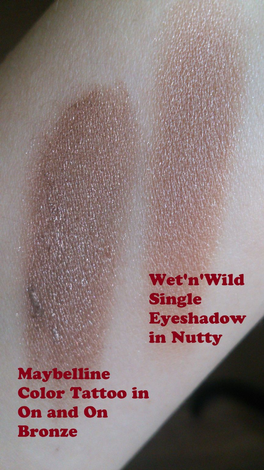 Wet N Wild Color Icon Eyeshadow Single Nutty Reviews Photos Ingredients Makeupalley