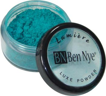 Ben Nye Lumiere Luxe Powder TURQUOISE