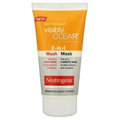 Neutrogena Visibly Clear 2-in-1 wash mask