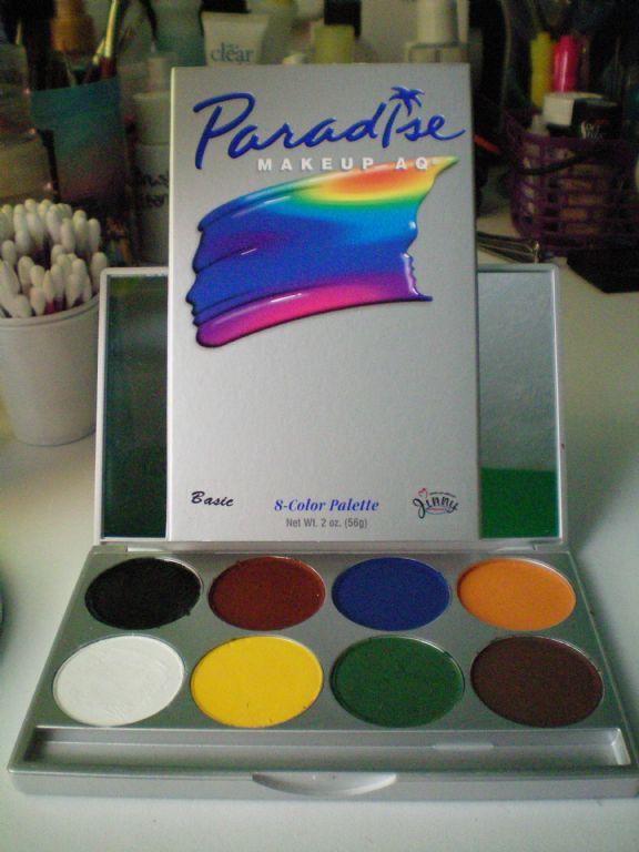 Mehron Makeup Basic 8 Colour Palette