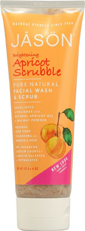 Jason Natural Cosmetics Apricot Scrubble