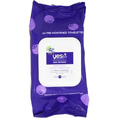 Yes To Carrots Yes To Blueberries Cleansing Facial Wipes