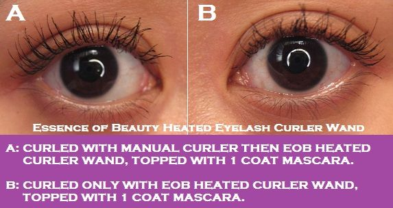 heated eyelash curler results. essence of beauty heated eyelash curler wand results