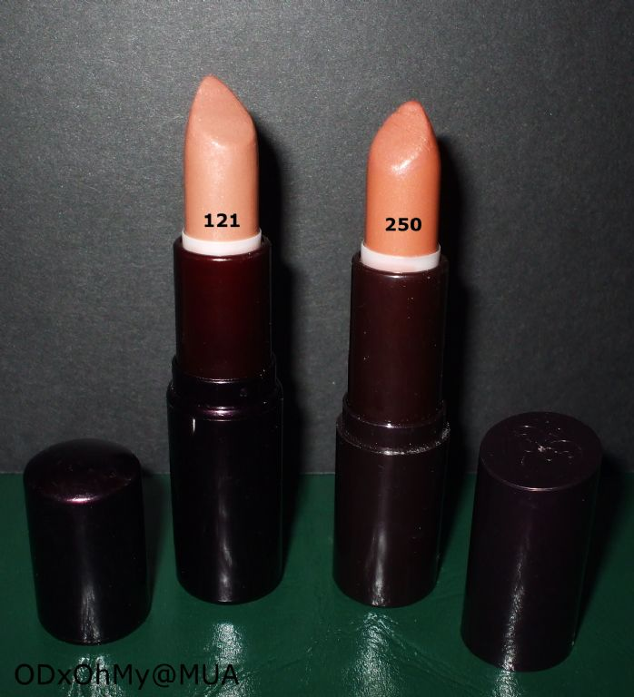 Rimmel Birthday Suit in 121 and 250 (Uploaded by ODxOhMy)