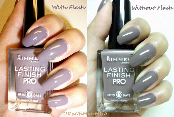 Rimmel Lasting Finish Pro - Steel Grey reviews, photos - Makeupalley