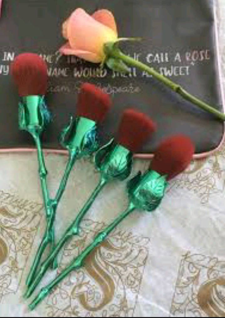 Storybook Cosmetics What's In A Name Red Rose Synthetic Makeup Brushes reviews, photo - Makeupalley