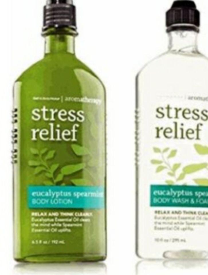 Bath Body Works Stress Relief Aromatherapy Line Reviews Photo