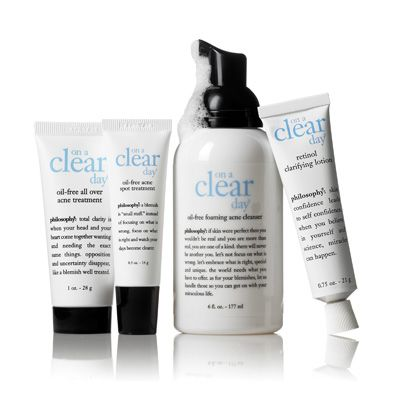 Philosophy On A Clear Day Completely Clear Skin System