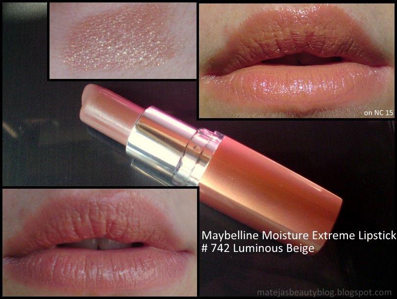 Maybelline New York Moisture Extreme Lipstick In Luminous Beige