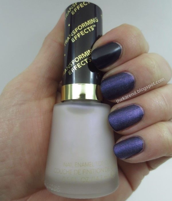 Revlon Transforming Effects Top Coat in Matte Pearl Glaze reviews ...
