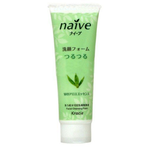 Kanebo Naive Facial Foam in Aloe