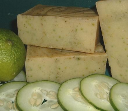 Chagrin Valley Cucumber Lime Yogurt Soap
