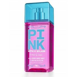 Victoria's Secret PINK With A Splash fresh & clean all-over body mist