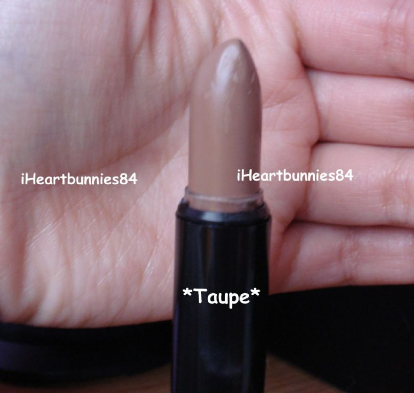 NYX - Round Lipstick - Taupe (Uploaded by iHeartbunnies84)